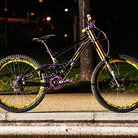 Banshee Legend MkII 2012 Black/Yellow/Purple