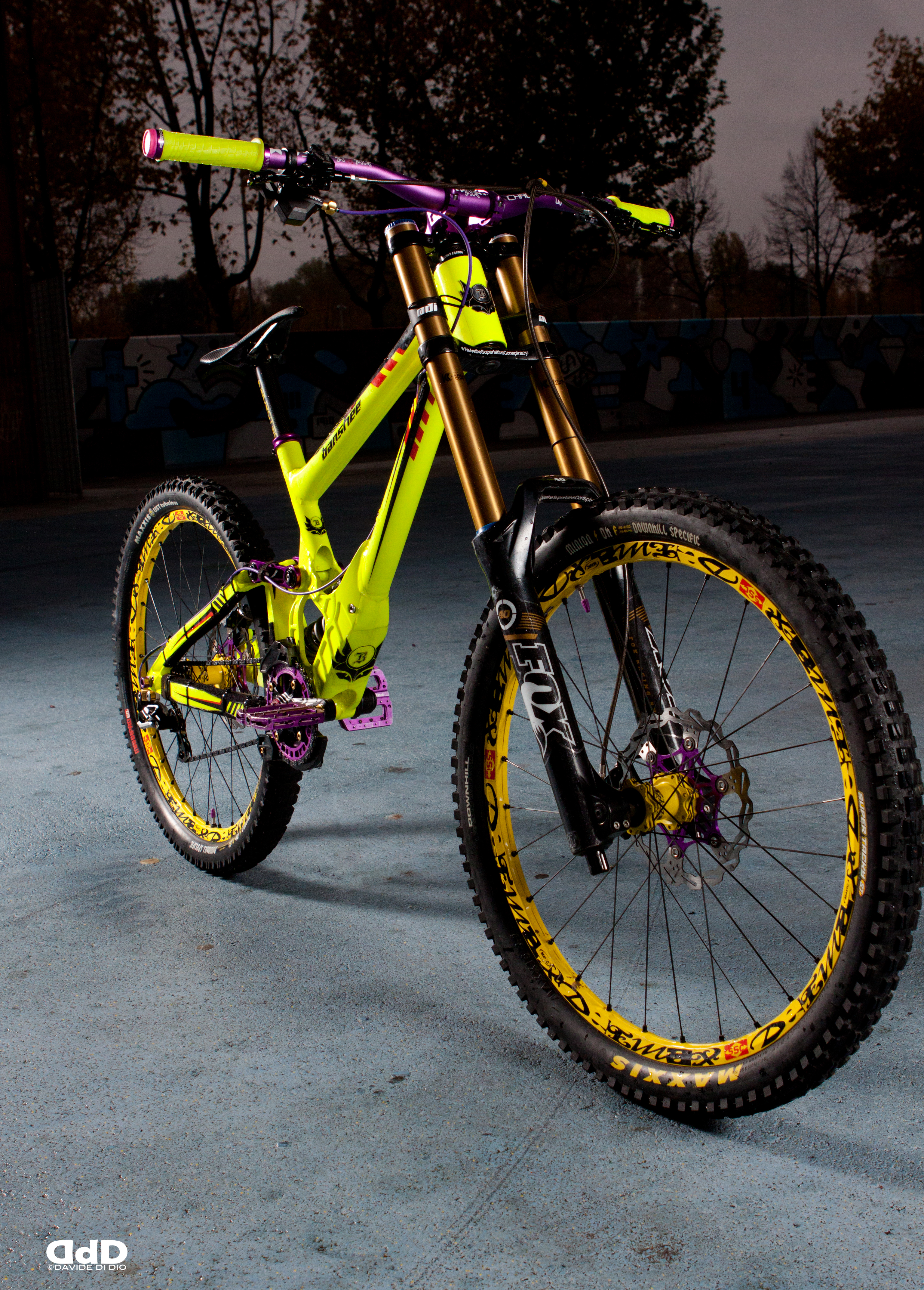Banshee Legend Mkii 2013 Fluo Purple Marci0 S Bike Check