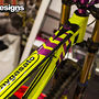 Banshee Legend MkII Fluo/Purple Restyle for 2014 Season. Some parts + Decals + Suspension Tuning