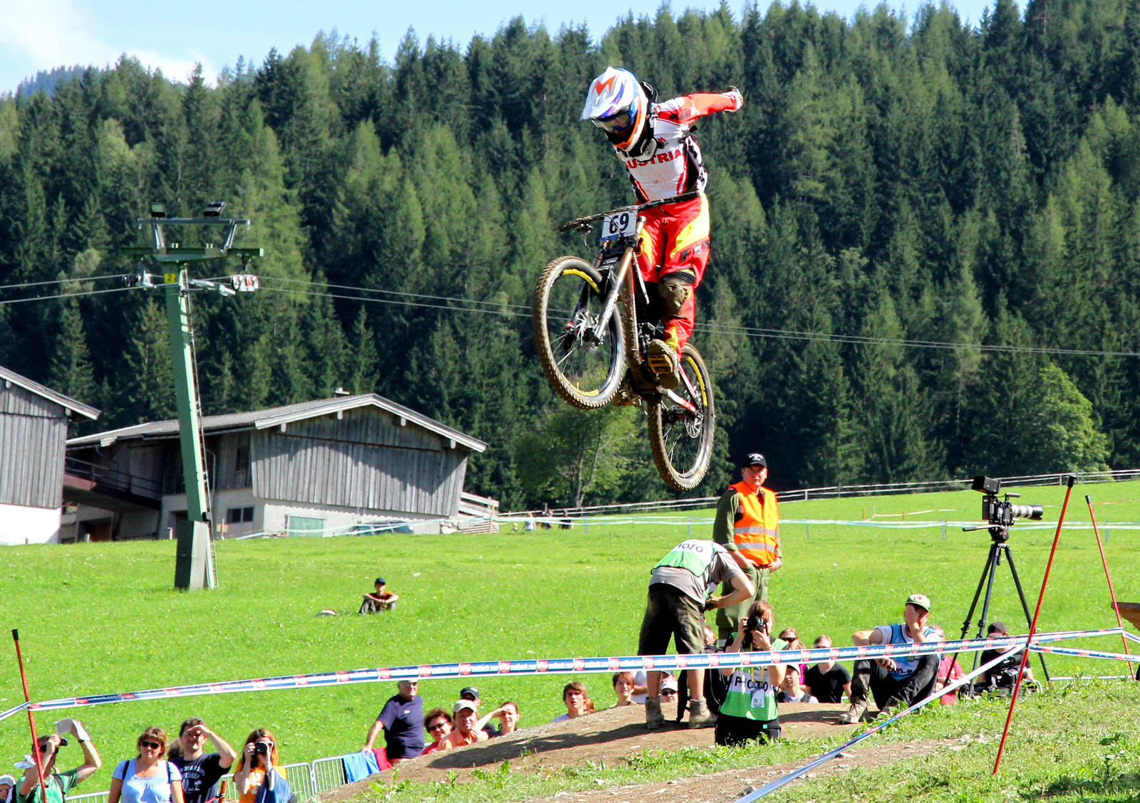 Manuel Gruber at Leogang`s DH worlds... - The Gap - Mountain Biking Pictures - Vital MTB