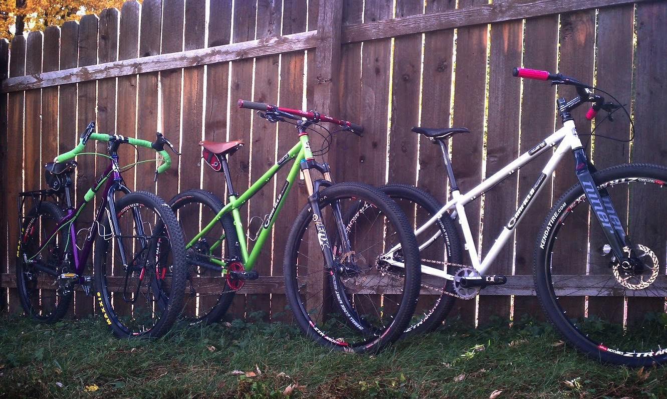 3 Nimble 9s. 3 different builds. 3 ways to have a bunch of fun on two wheels.