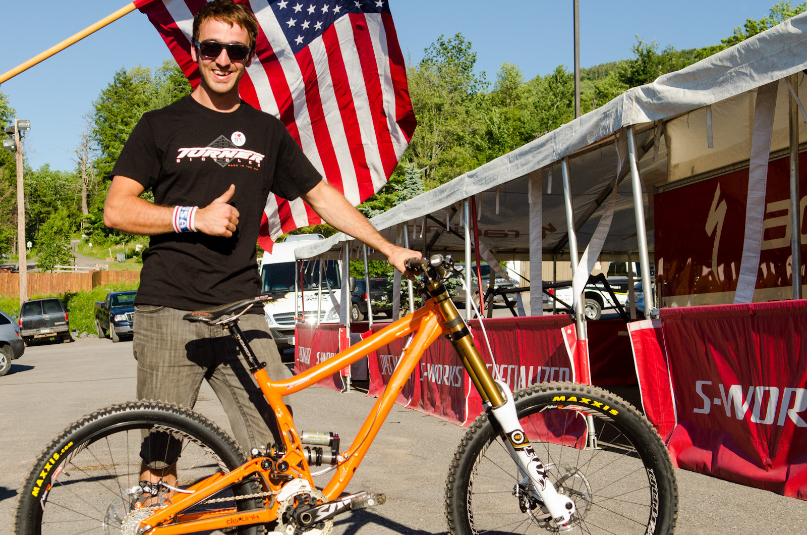 Leif Lorenzen's Turner DHR - What Are They Riding: Windham - Mountain Biking Pictures - Vital MTB