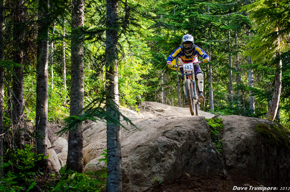 Alejandro Ortiz at Whistler Crankworx Garbanzo DH - Garbanzo DH from Crankworx - Mountain Biking Pictures - Vital MTB
