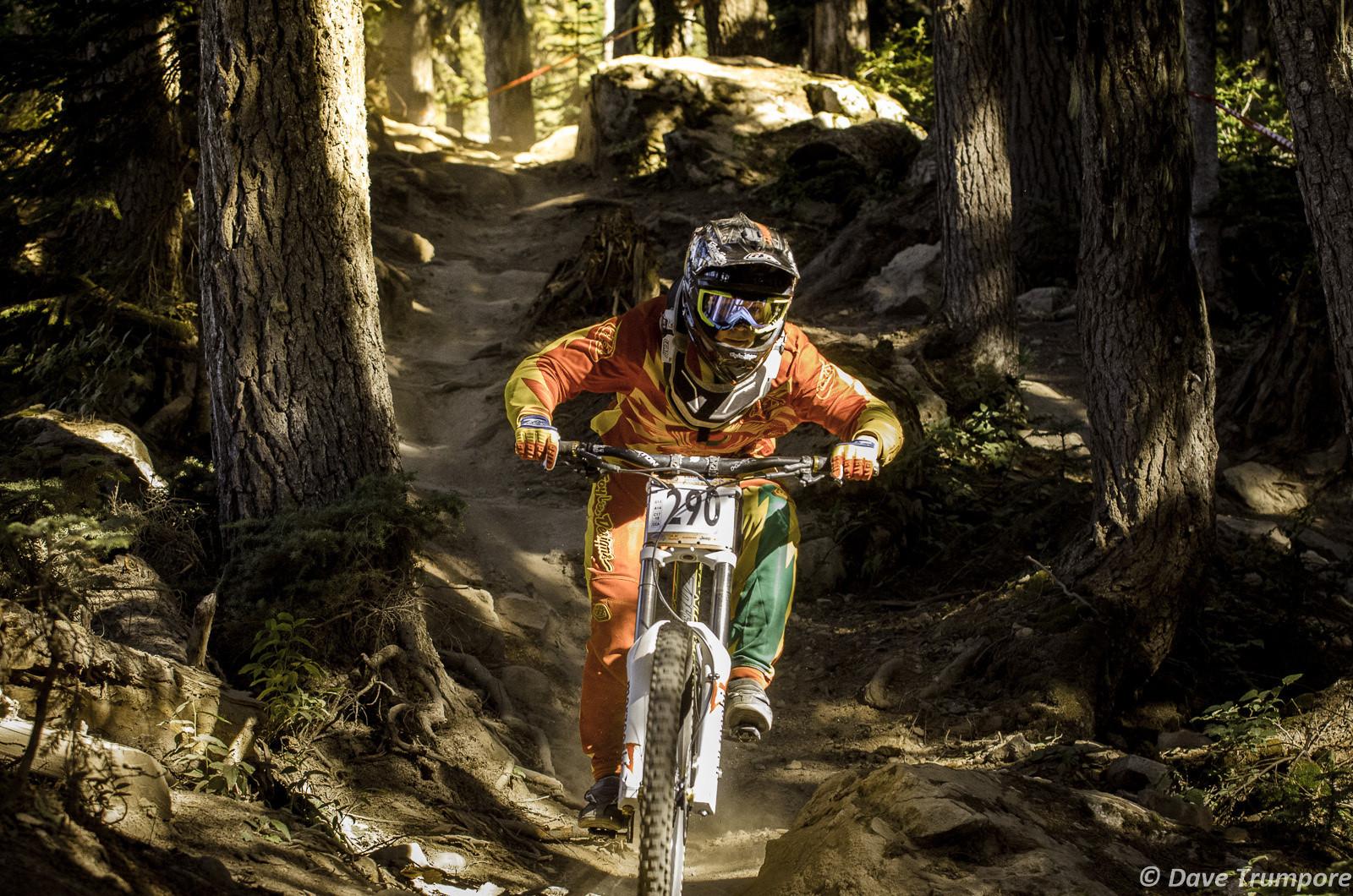 Jamie Hill at Crankworx Garbanzo DH - Crankworx Whistler Garbanzo DH - Mountain Biking Pictures - Vital MTB