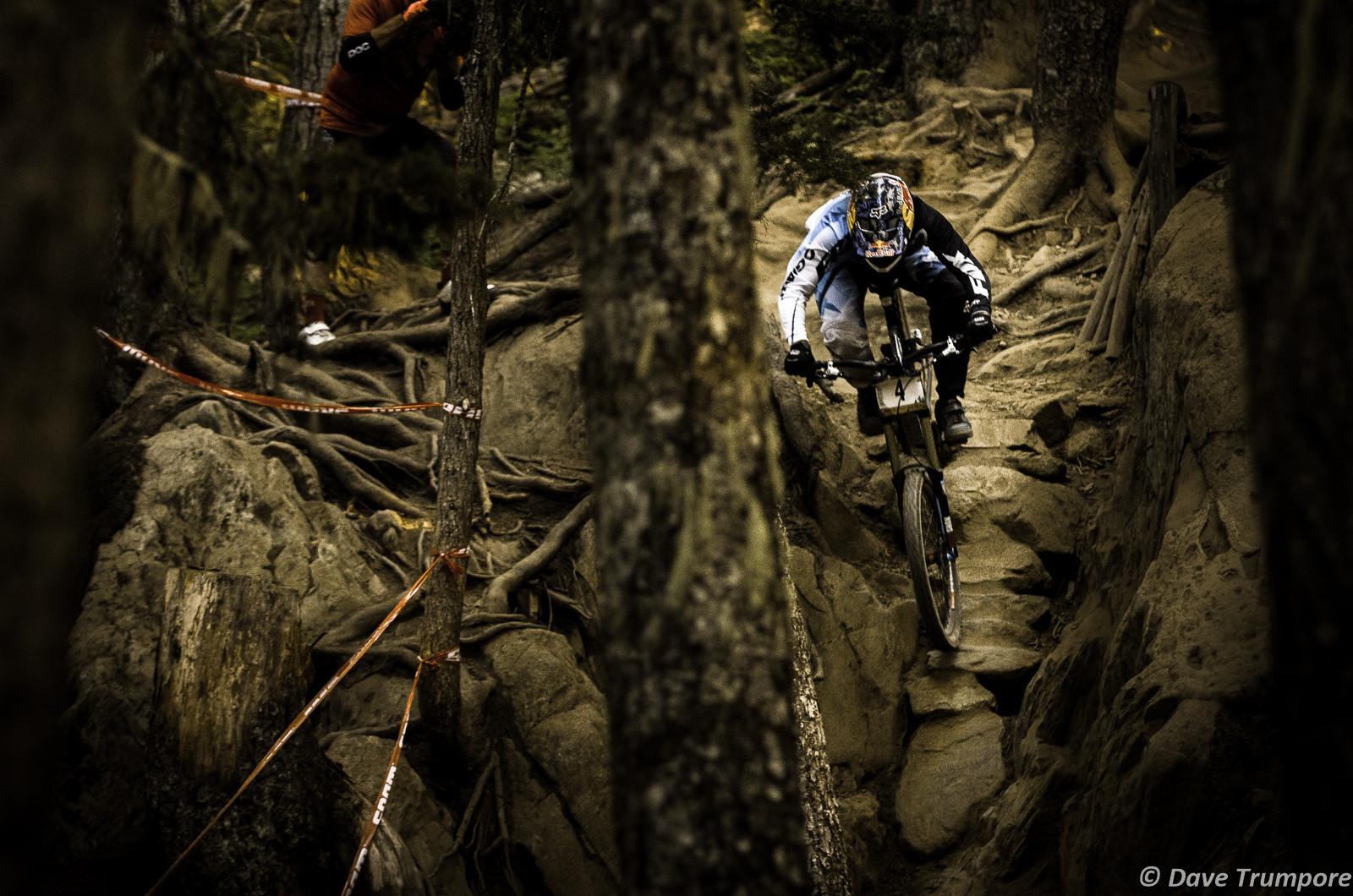 Whistler DH Action: Marcelo Gutierrez Wins Crankworx Garbanzo DH - Crankworx Whistler Garbanzo DH - Mountain Biking Pictures - Vital MTB