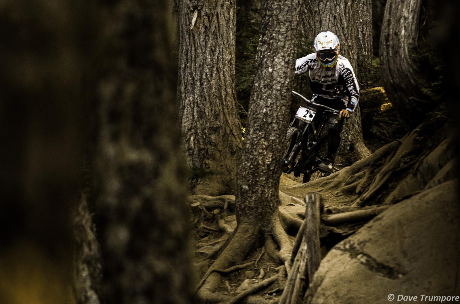 Loic Bruni at Crankworx Garbanzo DH - Crankworx Whistler Garbanzo DH - Mountain Biking Pictures - Vital MTB