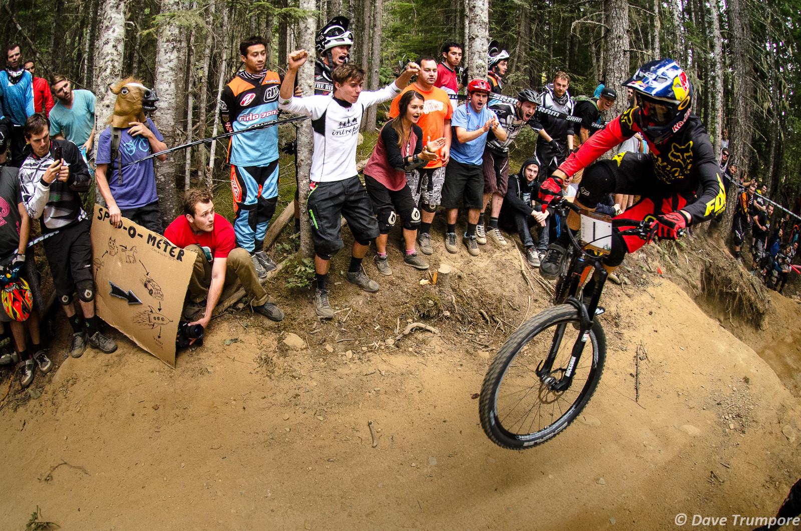 Steve Smith Wins Crankworx Air DH - Crankworx Whistler Air DH - Mountain Biking Pictures - Vital MTB