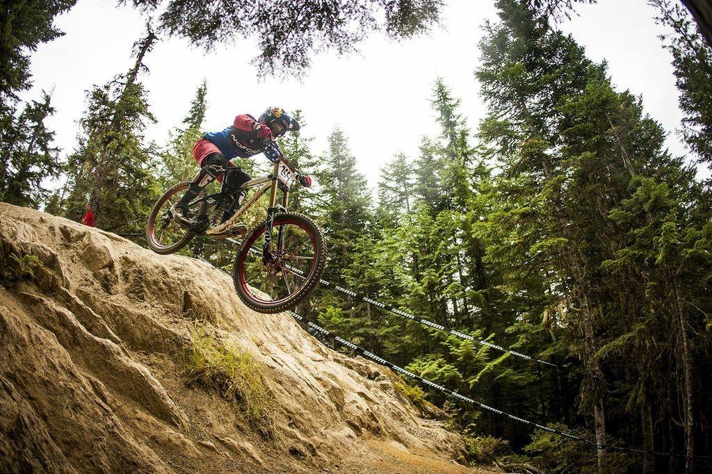 Jill Kintner Wins Crankworx Whistler Air DH - Crankworx Whistler Air DH - Mountain Biking Pictures - Vital MTB