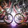 The wife's bike + mine =)
