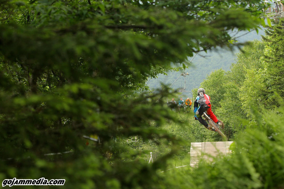 It's Not a Race at Snowshoe without the Cup Cake Road Gap - gojammedia - Mountain Biking Pictures - Vital MTB