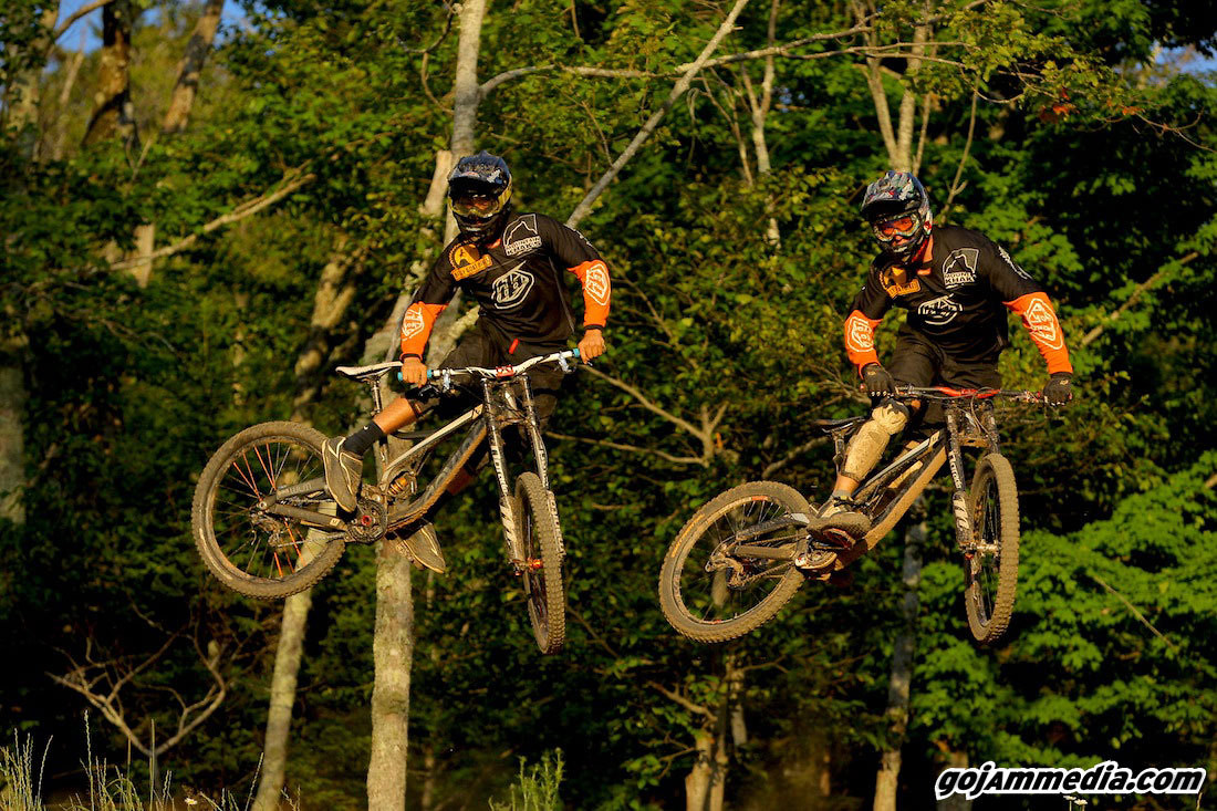A New Race Day Competition, Synchronized Whippage? - gojammedia - Mountain Biking Pictures - Vital MTB