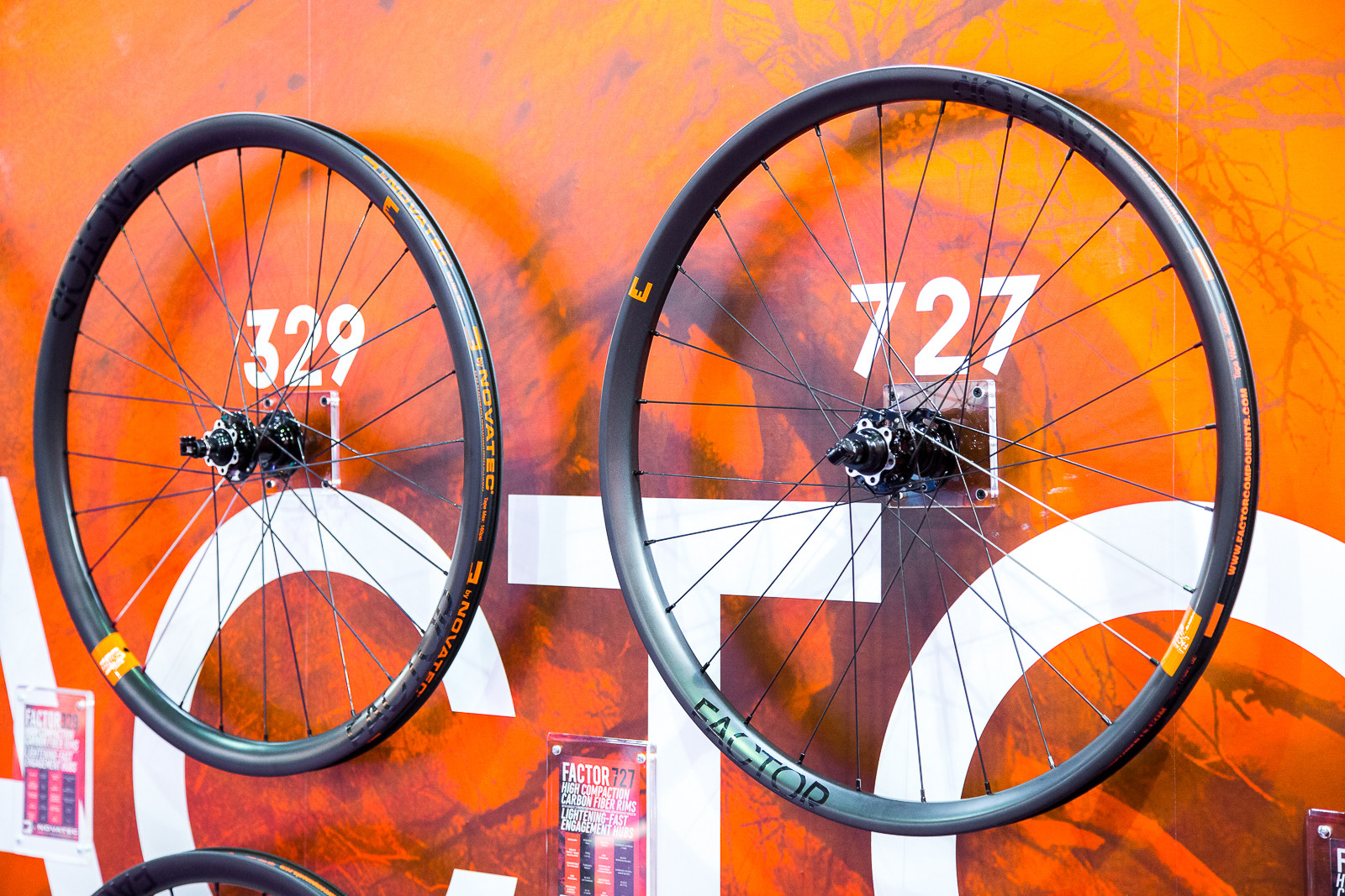 Novatec Factor Carbon Wheelsets - 2016 Taipei Bike Show - Mountain Biking Pictures - Vital MTB