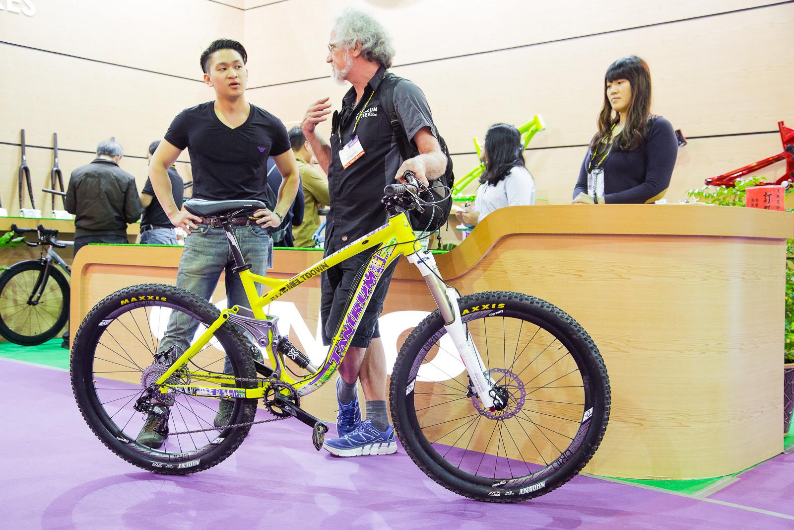 2017 Tantrum Meltdown - 2016 Taipei Bike Show - Mountain Biking Pictures - Vital MTB