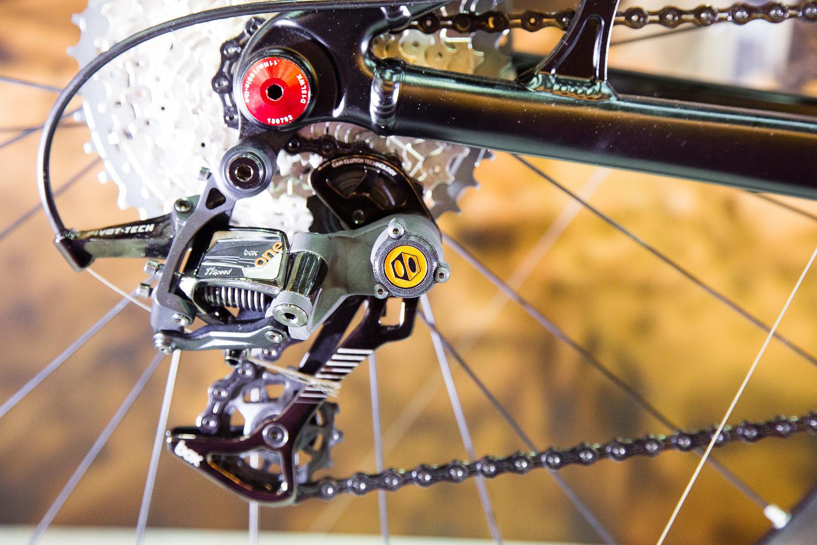 Box Components Rear Derailleur, Shifter and Brakes - 2016 Taipei Bike Show - Mountain Biking Pictures - Vital MTB