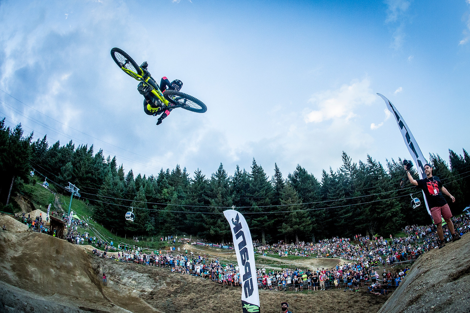 Whip Off Madness from Crankworx NZ - Tyler McCaul - Whip Off Madness from Crankworx NZ - Mountain Biking Pictures - Vital MTB
