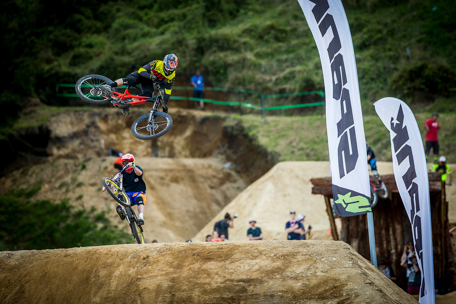 George Brannigan - Whip Off Madness from Crankworx NZ - Mountain Biking Pictures - Vital MTB