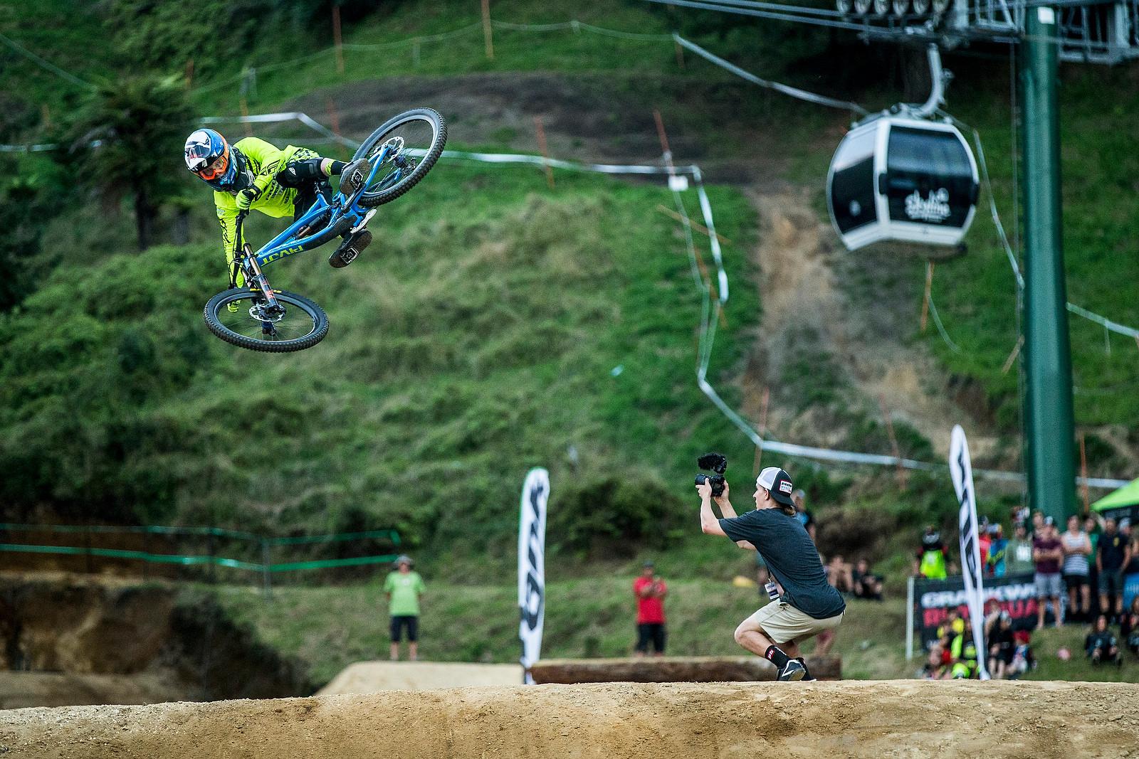 Bernard Kerr - Whip Off Madness from Crankworx NZ - Mountain Biking Pictures - Vital MTB
