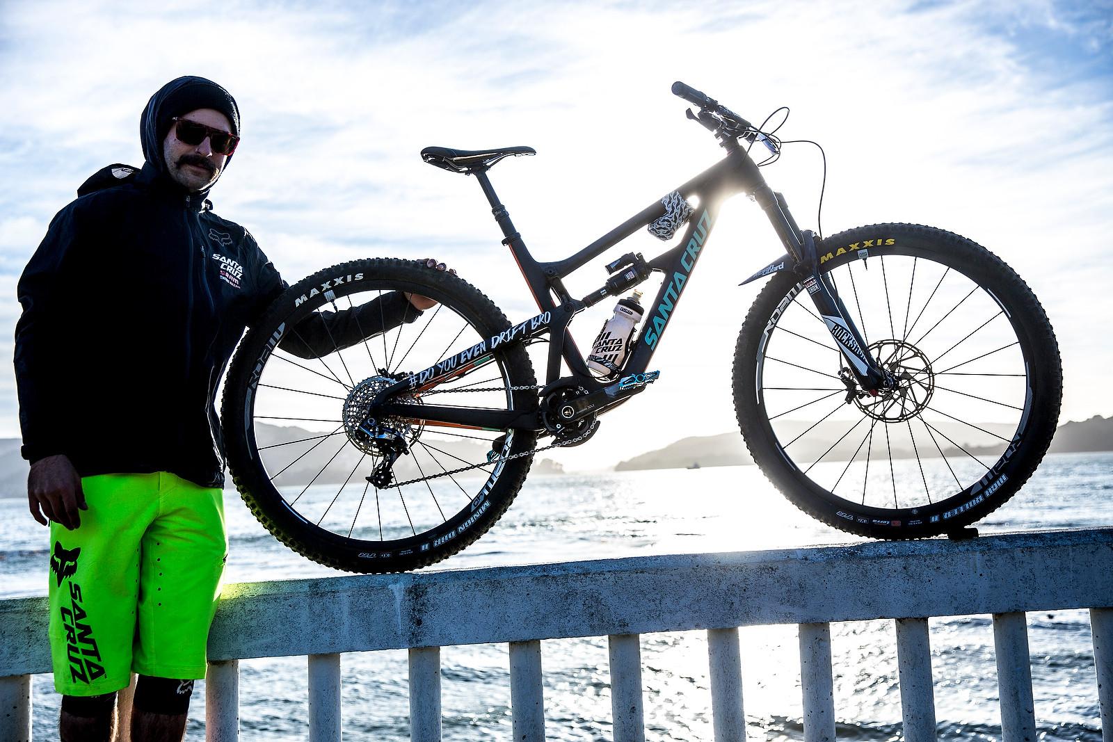 Iago Garay's Santa Cruz Hightower - PIT BITS - Enduro World Series, Corral, Chile - Mountain Biking Pictures - Vital MTB