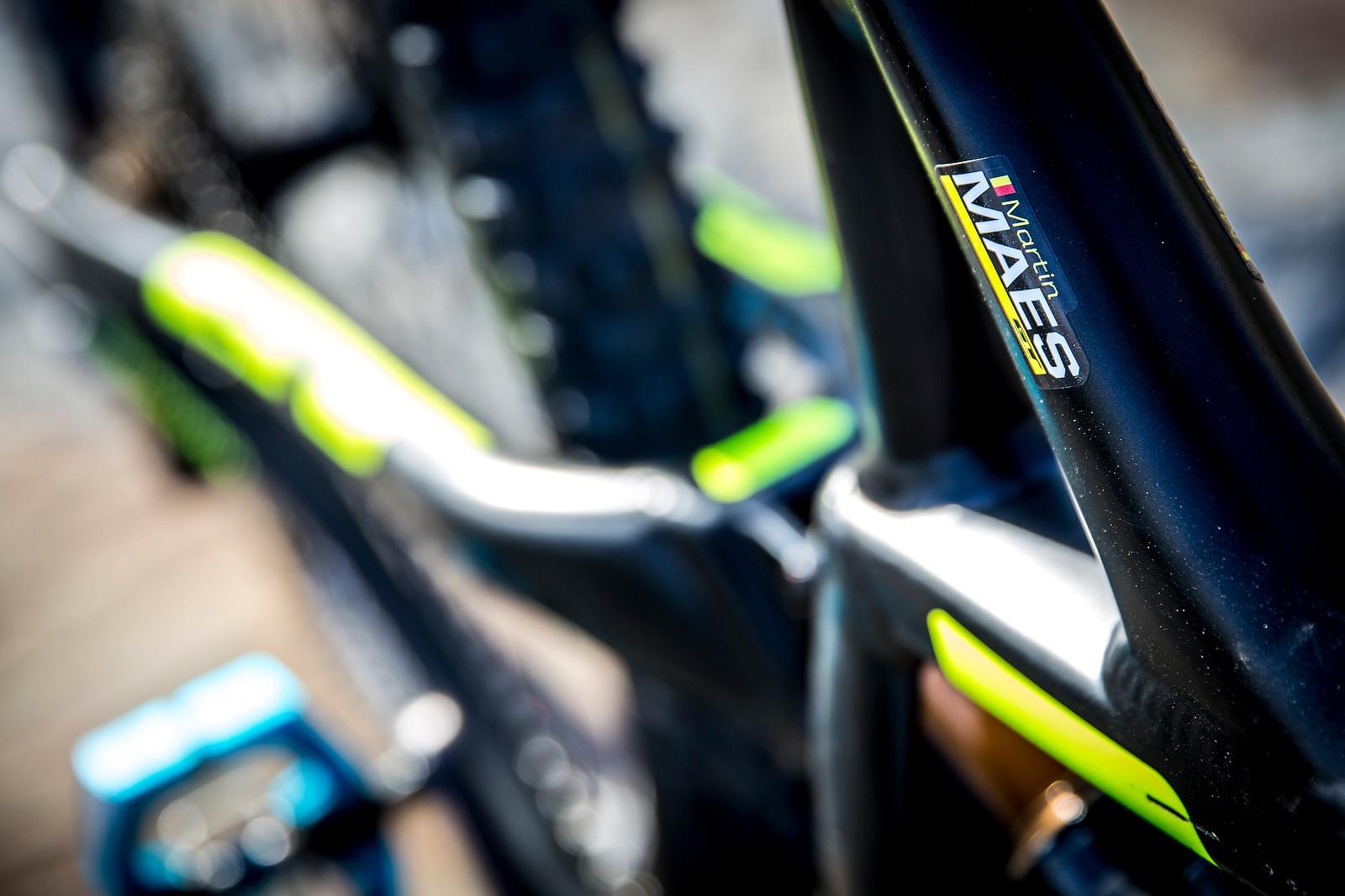 Martin Maes, Belgian Pride - PIT BITS - Enduro World Series, Corral, Chile - Mountain Biking Pictures - Vital MTB