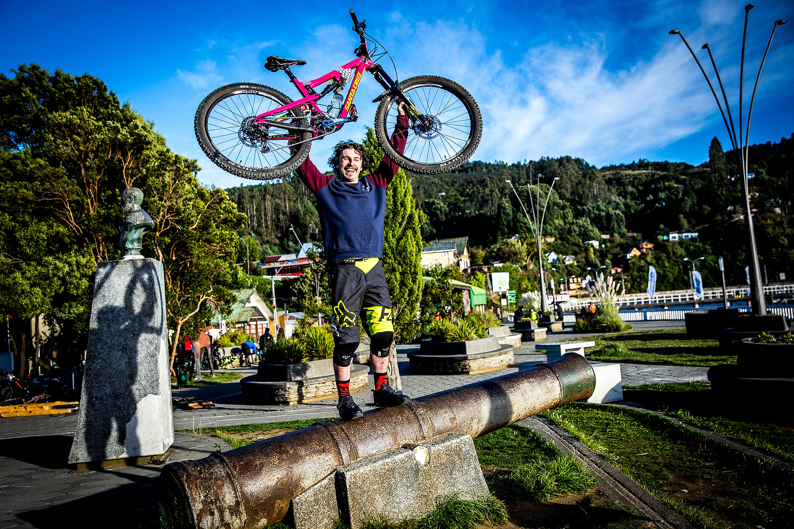 Josh Lewis - PIT BITS - Enduro World Series, Corral, Chile - Mountain Biking Pictures - Vital MTB