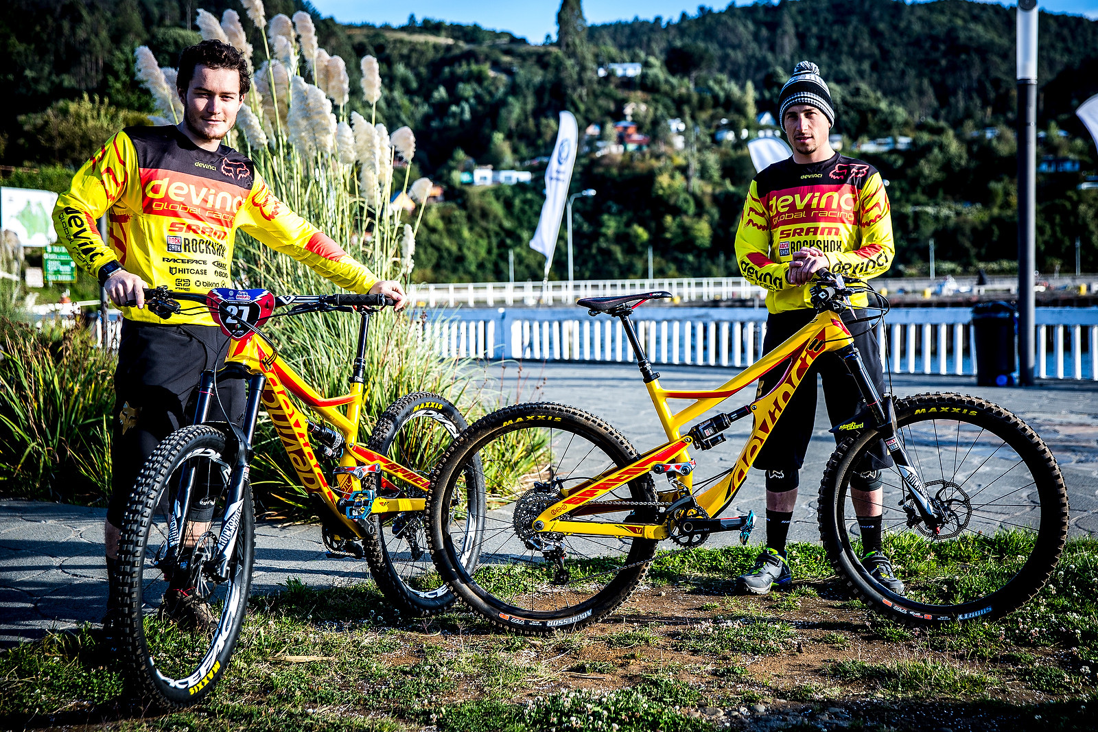 A Couple of Spartans - PIT BITS - Enduro World Series, Corral, Chile - Mountain Biking Pictures - Vital MTB
