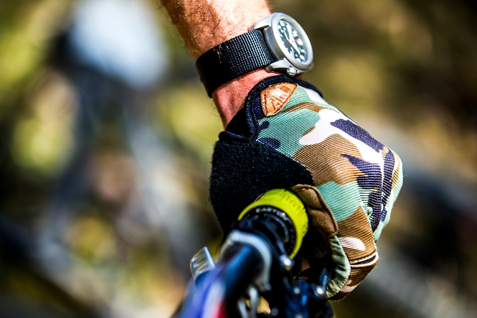 Dain's Mains (that's French for hands) - PIT BITS - Enduro World Series, Corral, Chile - Mountain Biking Pictures - Vital MTB