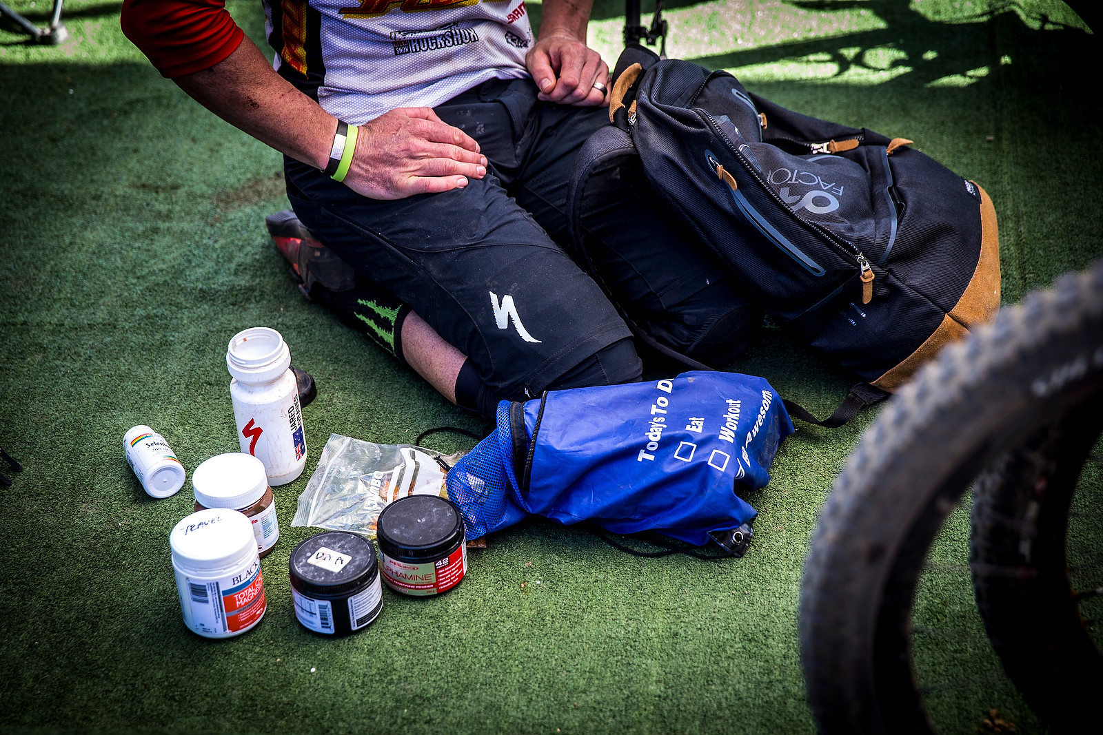 Jared Graves' Kit - PIT BITS - Enduro World Series, Corral, Chile - Mountain Biking Pictures - Vital MTB