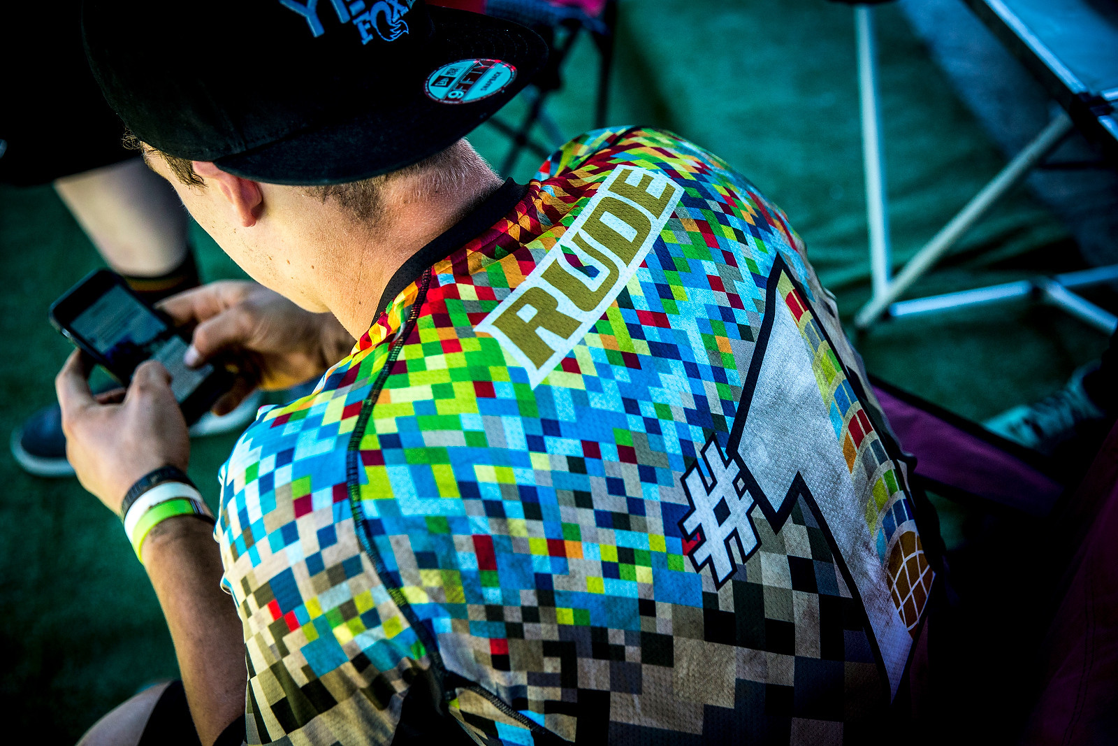 Richie Rude, Number 1 - PIT BITS - Enduro World Series, Corral, Chile - Mountain Biking Pictures - Vital MTB
