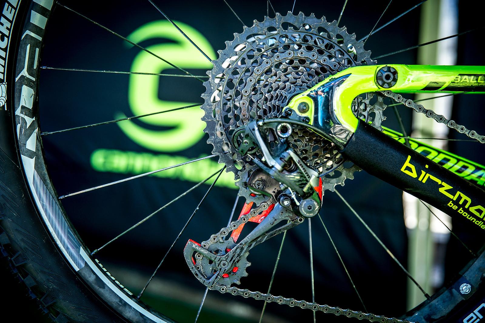 Jerome Clementz's Eagle 50t Cassette - PIT BITS - Enduro World Series, Corral, Chile - Mountain Biking Pictures - Vital MTB