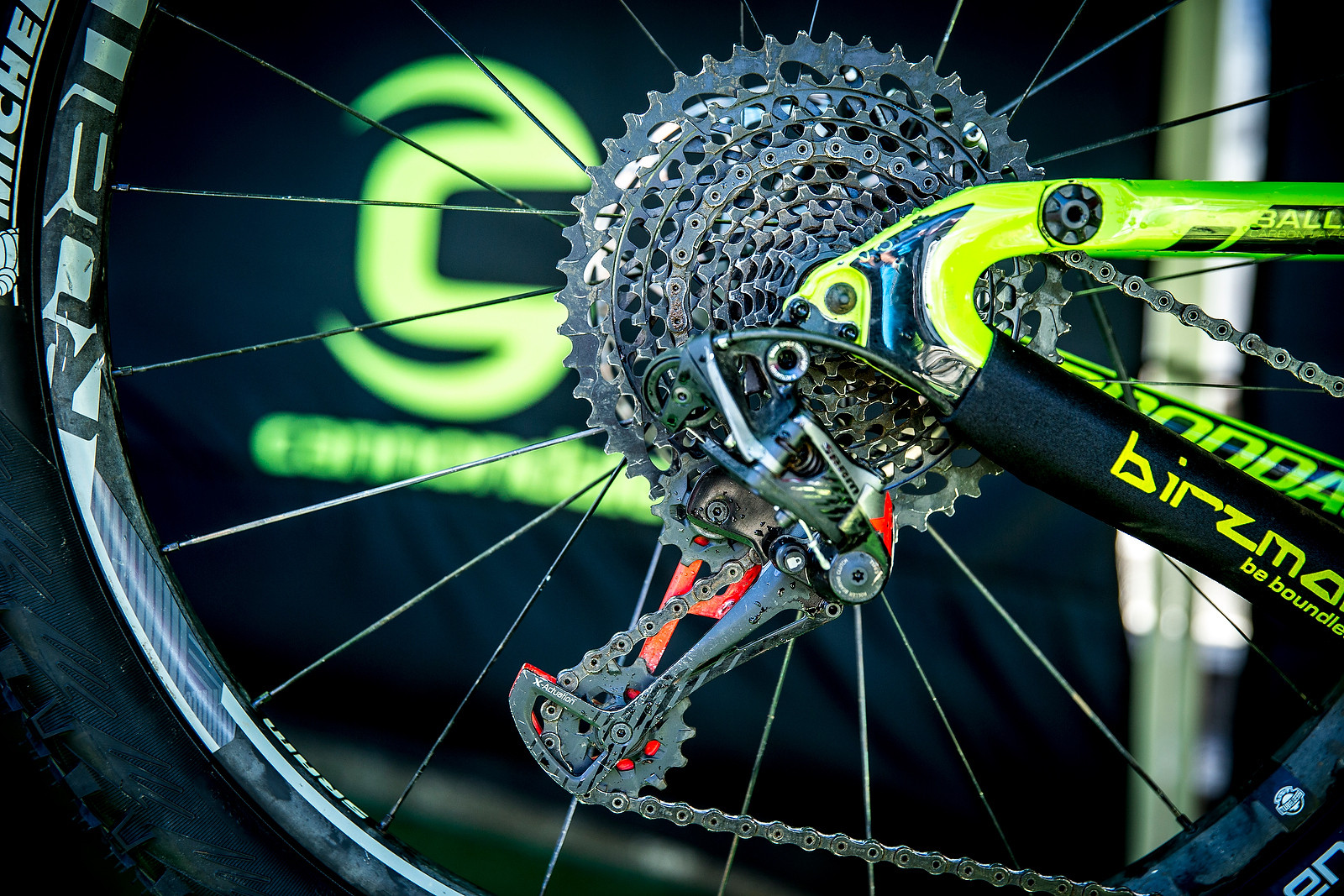 Jerome Clementz's Eagle 50t Cassette - PIT BITS - Enduro World Series, Corral, Chile - Mountain Biking Pictures - Vital MTB