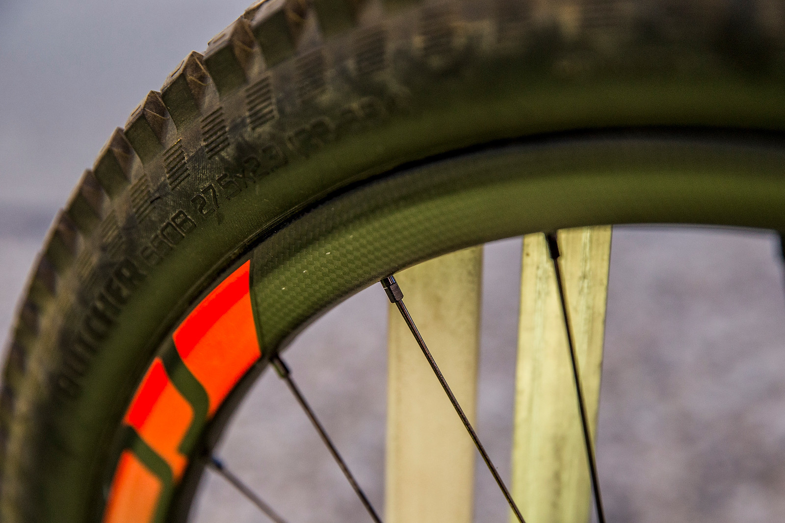 Curtis Keene's Prototype Specialized Tire - PIT BITS - Enduro World Series, Corral, Chile - Mountain Biking Pictures - Vital MTB
