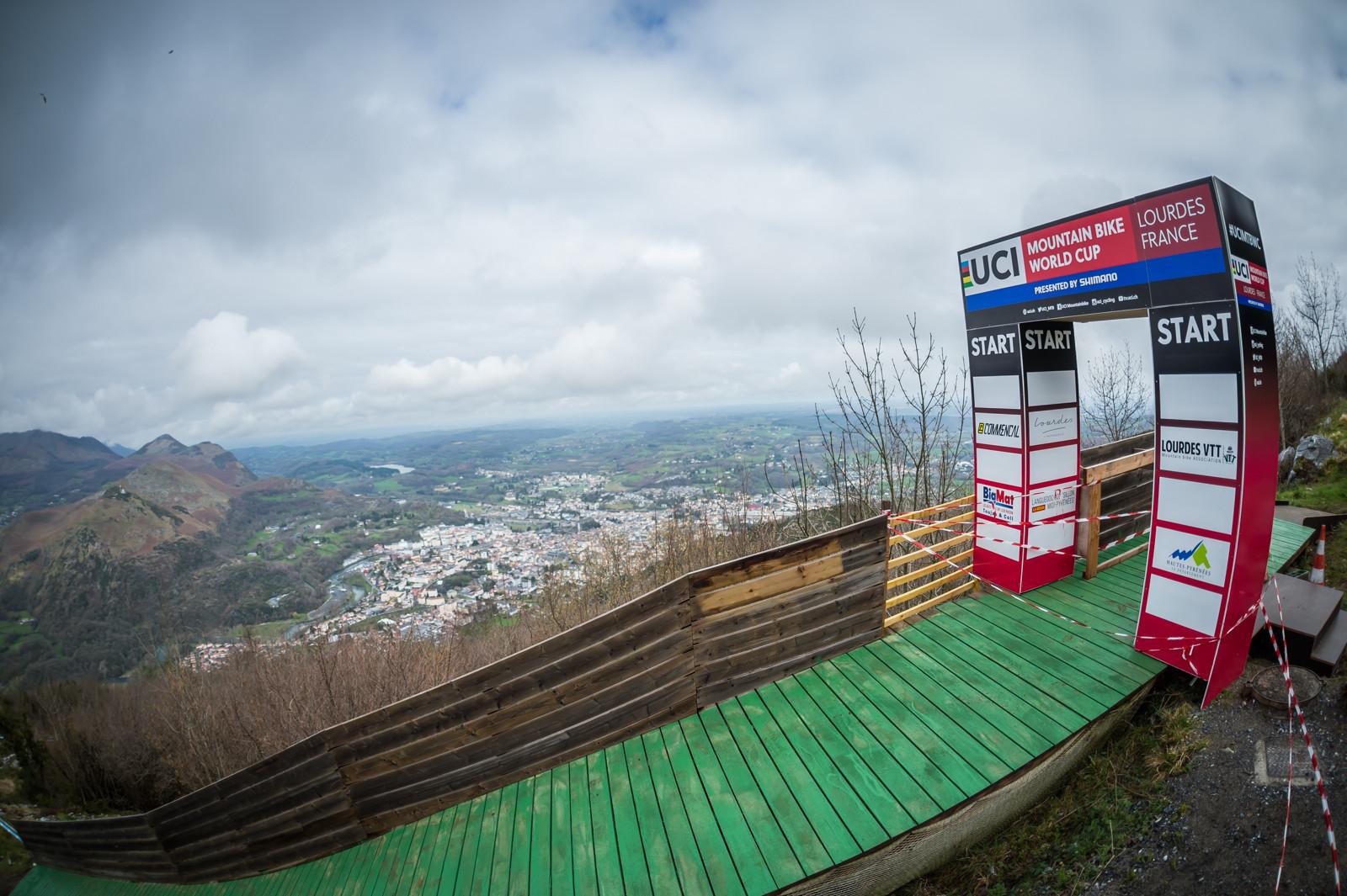 Lourdes World Cup DH Track Preview - The Lourdes World Cup DH Track Preview - Mountain Biking Pictures - Vital MTB