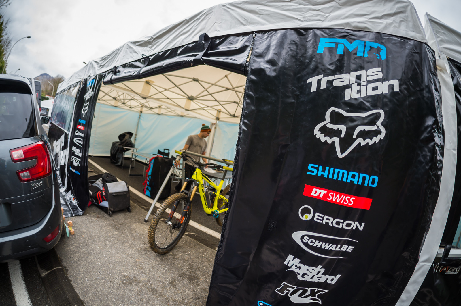 FMD on Transition - PIT BITS - 2016 Lourdes World Cup Downhill - Mountain Biking Pictures - Vital MTB