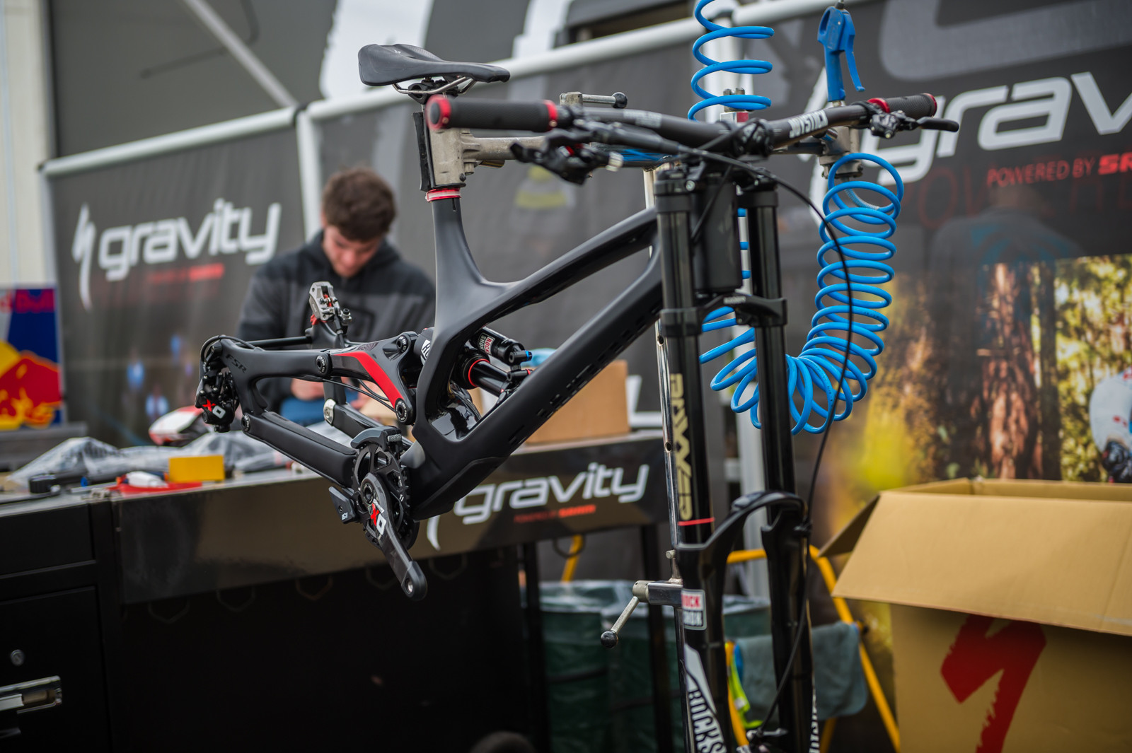 PIT BITS - Specialized Gravity at Lourdes World Cup - PIT BITS - 2016 Lourdes World Cup Downhill - Mountain Biking Pictures - Vital MTB