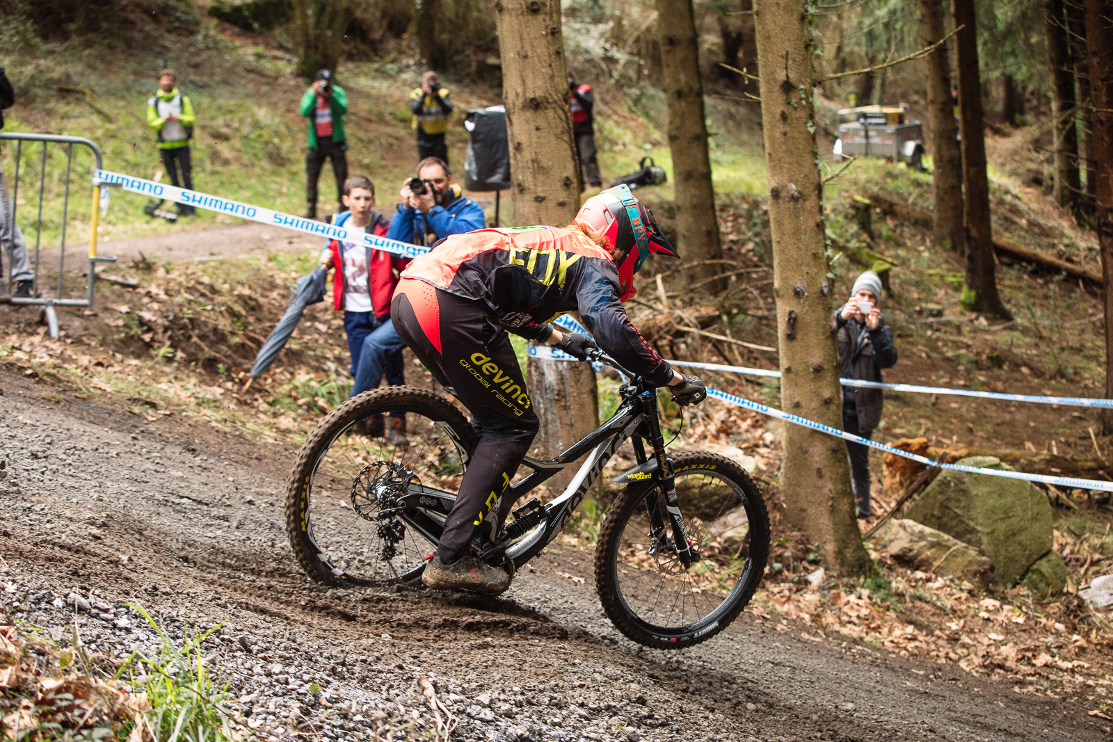 Devinci Wilson Bottom Out at Lourdes World Cup - G-Out Project - Lourdes World Cup DH - Mountain Biking Pictures - Vital MTB