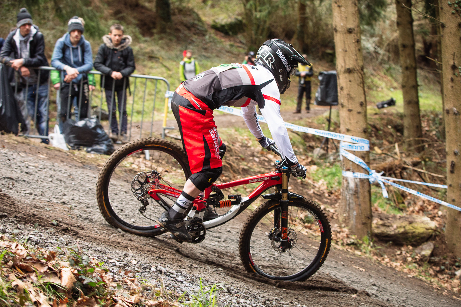 Saracen Myst Bottom Out at Lourdes World Cup - G-Out Project - Lourdes World Cup DH - Mountain Biking Pictures - Vital MTB