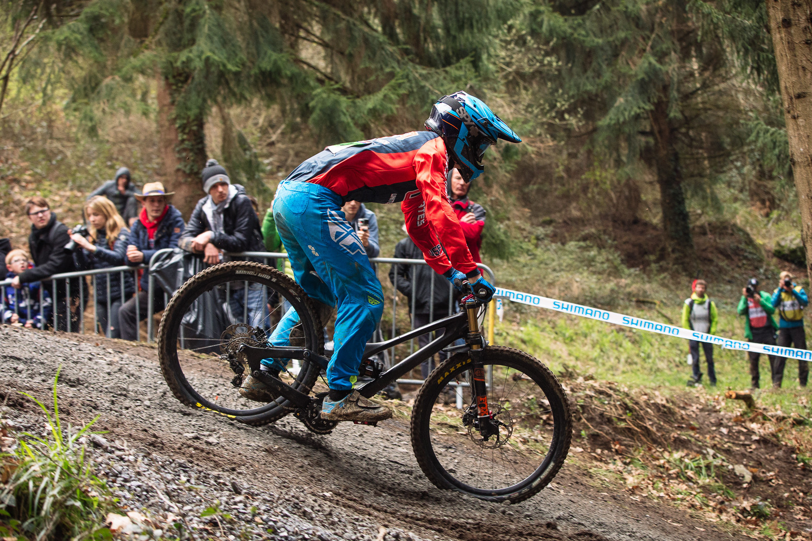 Specialized S-Works Demo Bottom Out at Lourdes World Cup - G-Out Project - Lourdes World Cup DH - Mountain Biking Pictures - Vital MTB