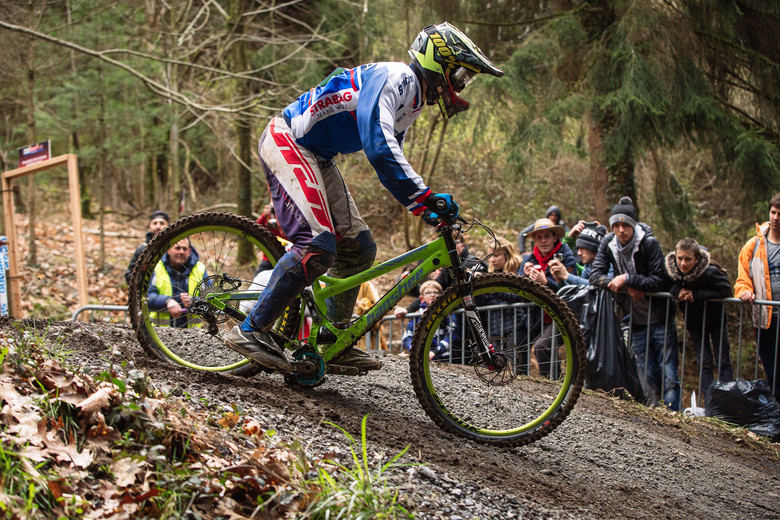 Banshee Bottom Out at Lourdes World Cup