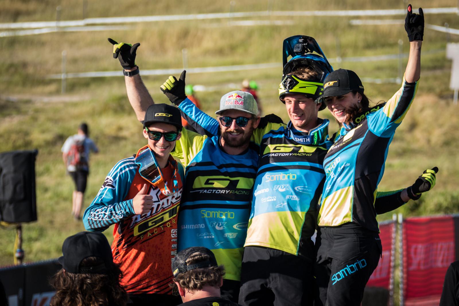 GT Had a Good Day - WINNING BIKE - Martin Maes' GT Distortion - Mountain Biking Pictures - Vital MTB