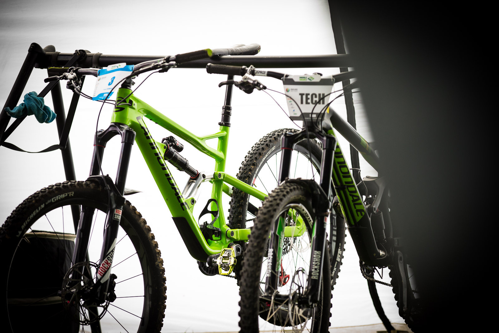 Jerome's Cannondale Prototype - PIT BITS - Enduro World Series, Wicklow, Ireland - Mountain Biking Pictures - Vital MTB