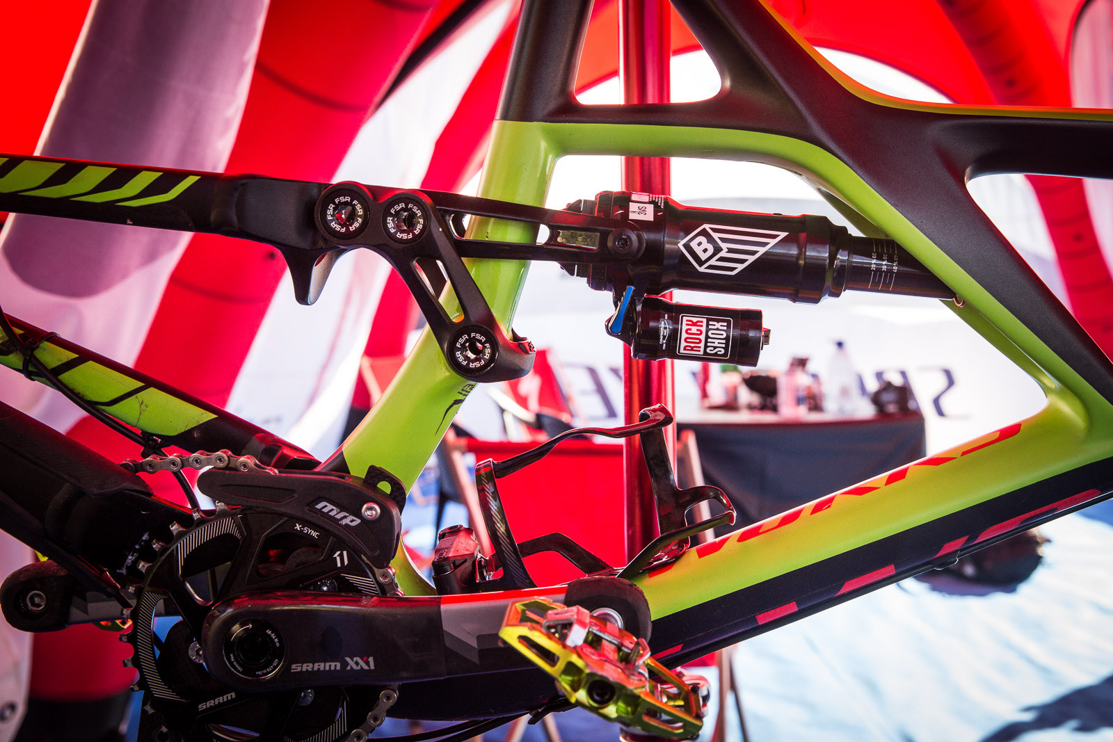 PIT BITS - Jared Graves' BlackBox Rear Shock  - PIT BITS - Enduro World Series, Wicklow, Ireland - Mountain Biking Pictures - Vital MTB