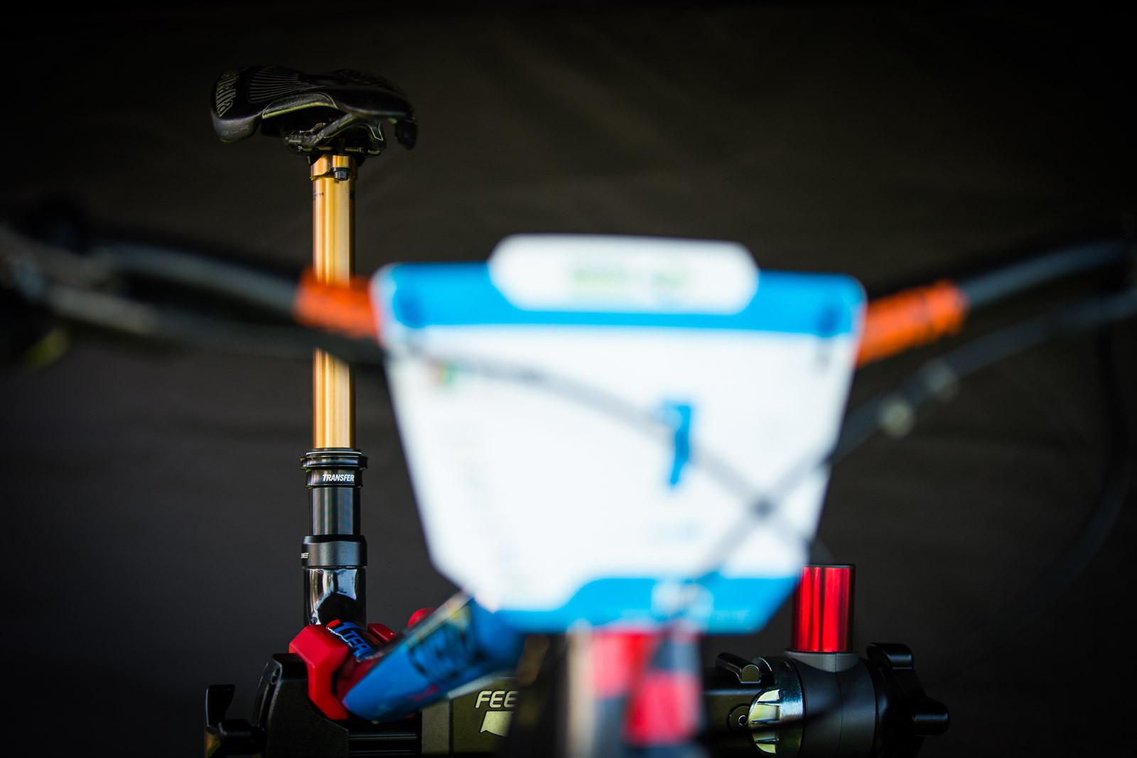 FOX Transfer Dropper Seatpost - PIT BITS - Enduro World Series, Wicklow, Ireland - Mountain Biking Pictures - Vital MTB