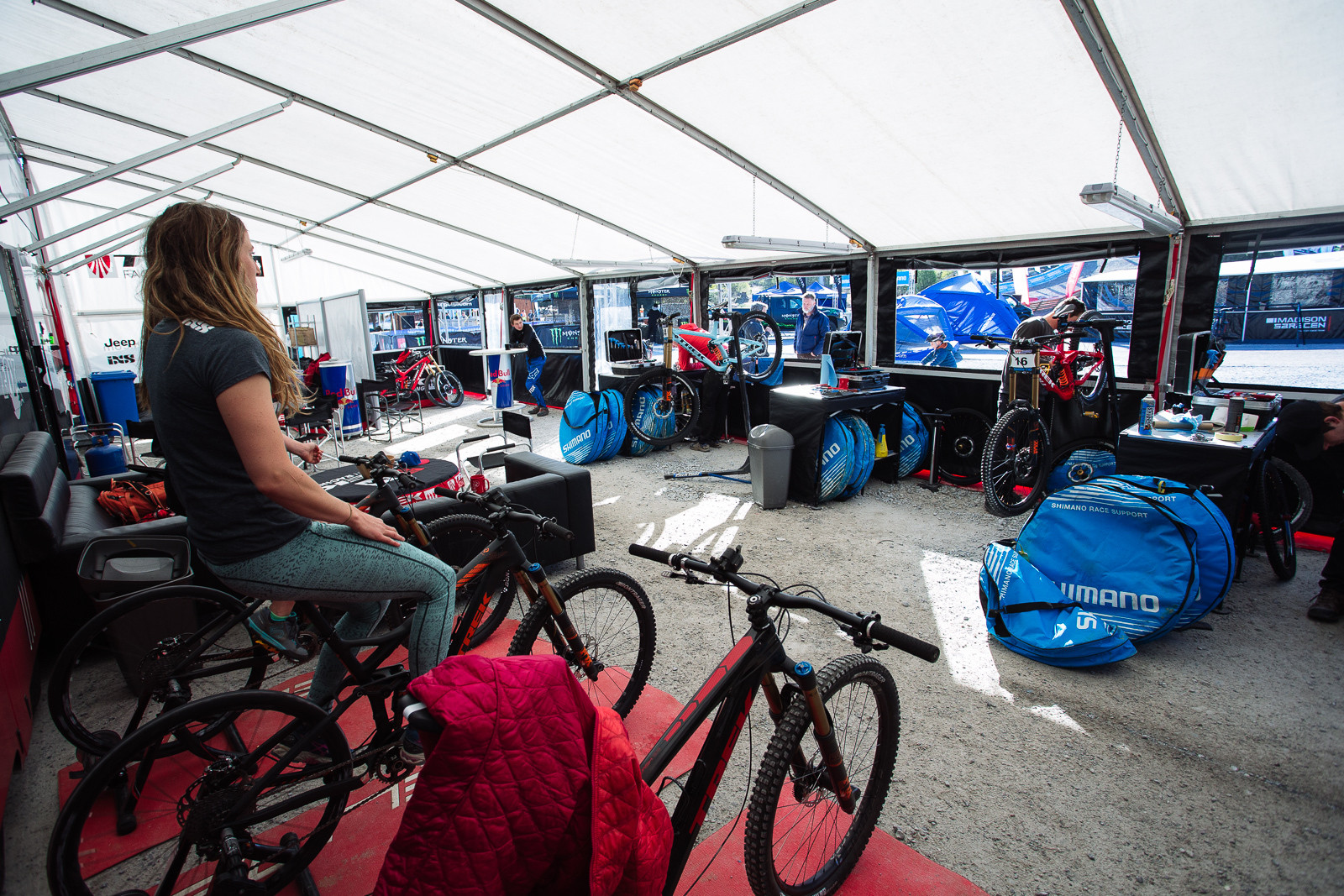 Trek Factory Racing Pits - PIT BITS - BDS Fort William - Mountain Biking Pictures - Vital MTB