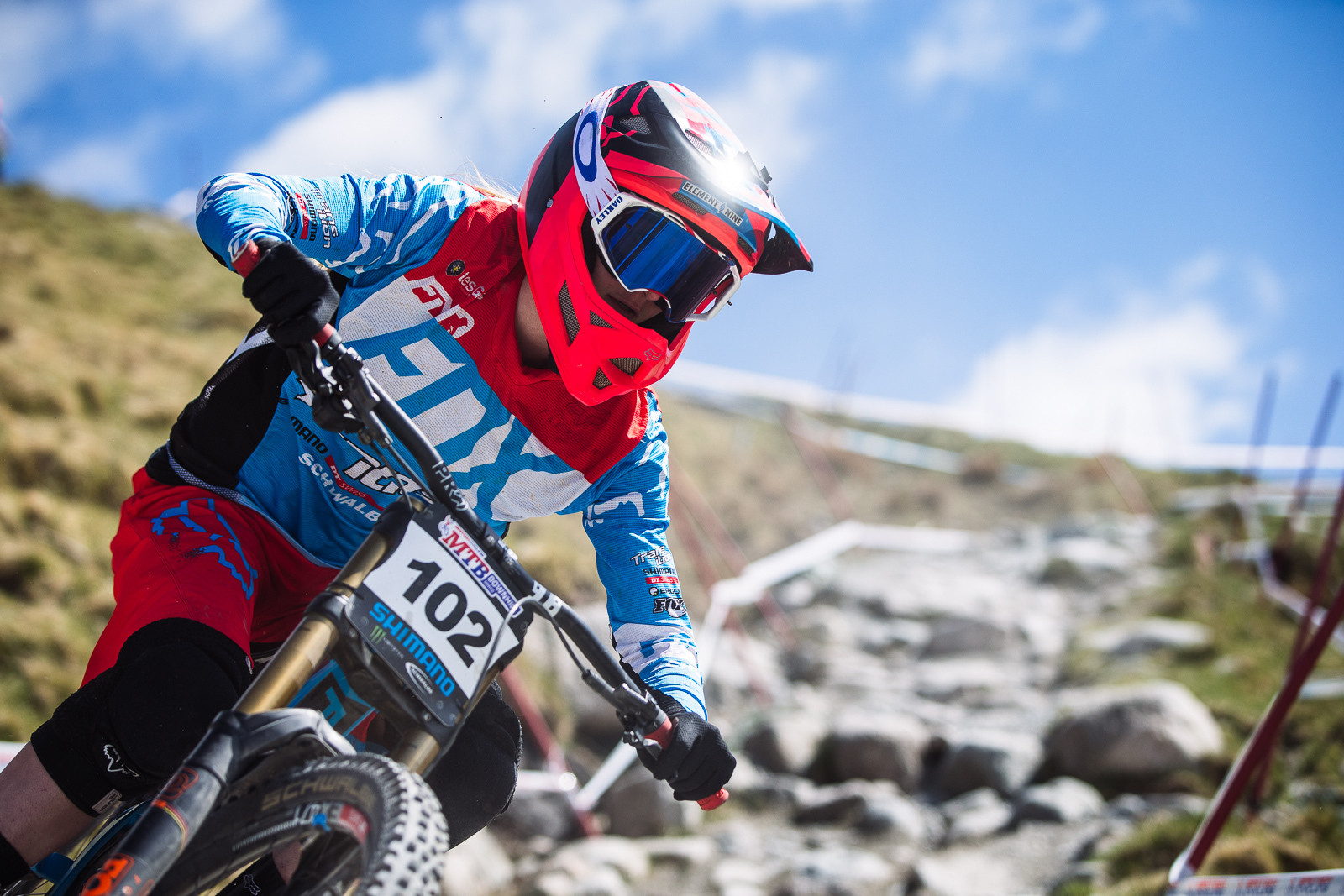 Tahnee Seagrave, Fort William BDS - Fort William DH Action from the British Downhill Series - Mountain Biking Pictures - Vital MTB
