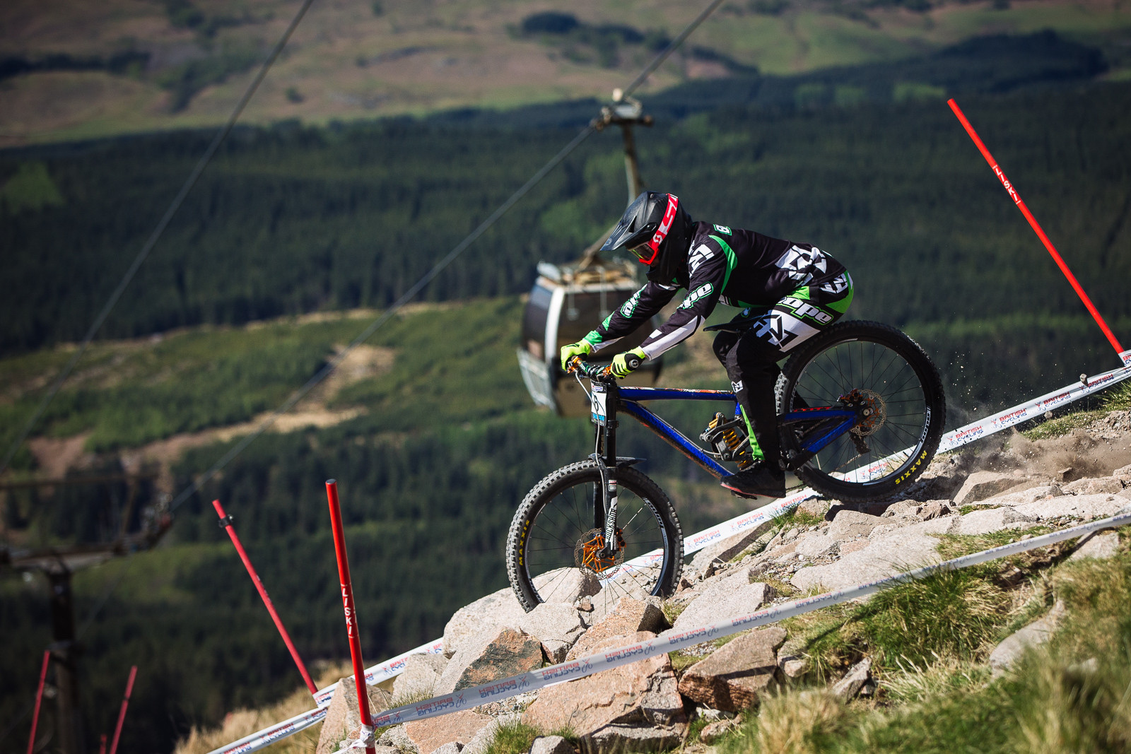 Adam Brayton, Fort William BDS - Fort William DH Action from the British Downhill Series - Mountain Biking Pictures - Vital MTB