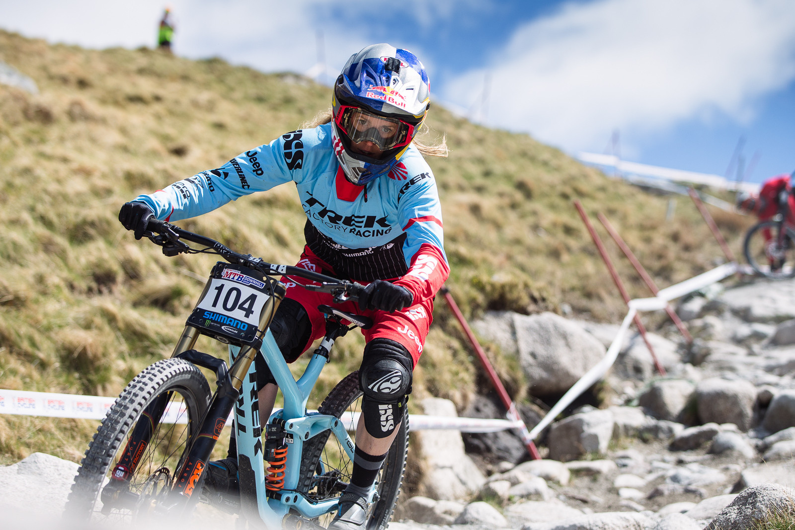 Rachel Atherton, Winner of Elite Women at Fort William BDS - Fort William DH Action from the British Downhill Series - Mountain Biking Pictures - Vital MTB