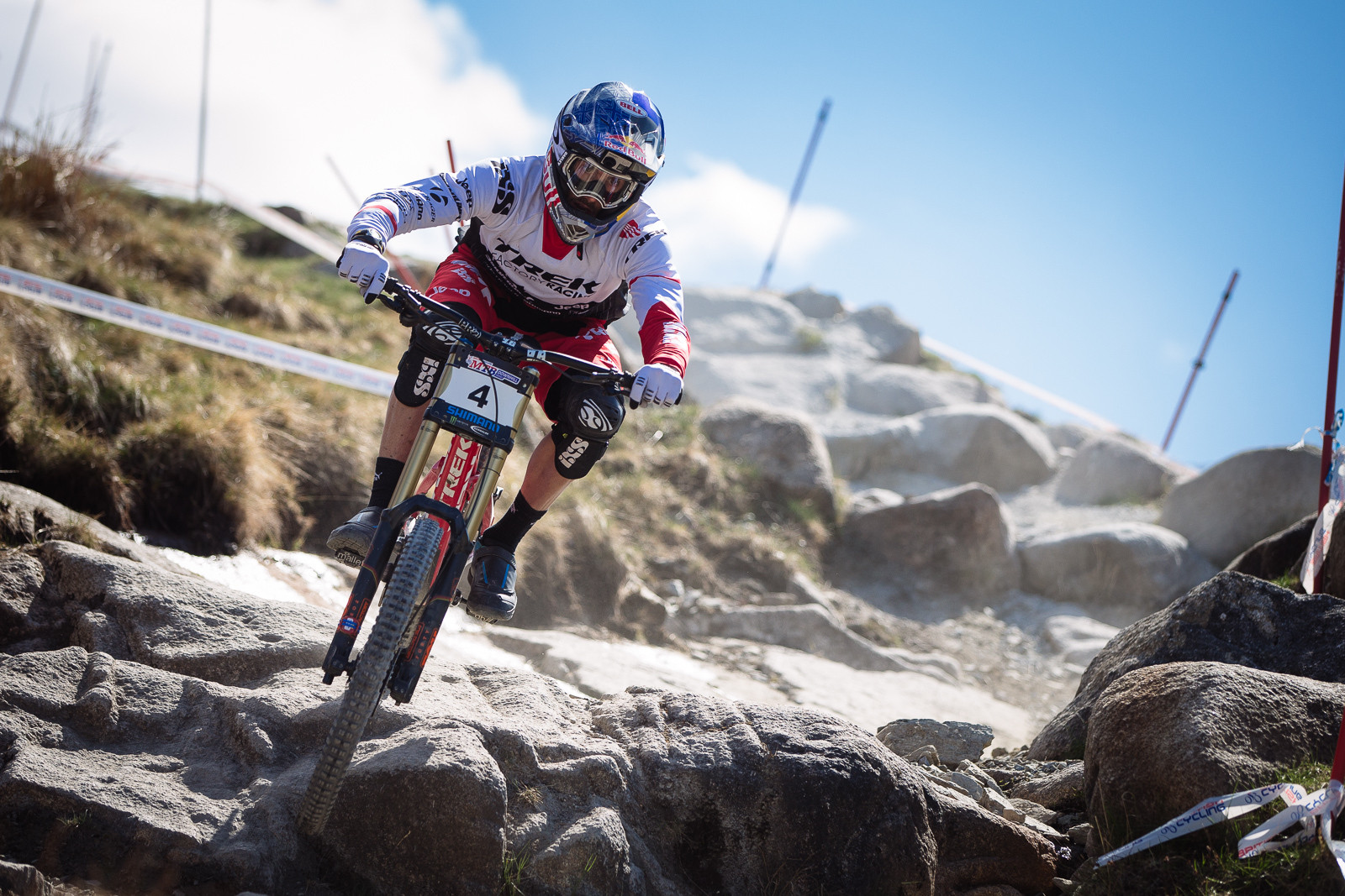 Gee Atherton, 2nd Place, Fort William BDS - Fort William DH Action from the British Downhill Series - Mountain Biking Pictures - Vital MTB