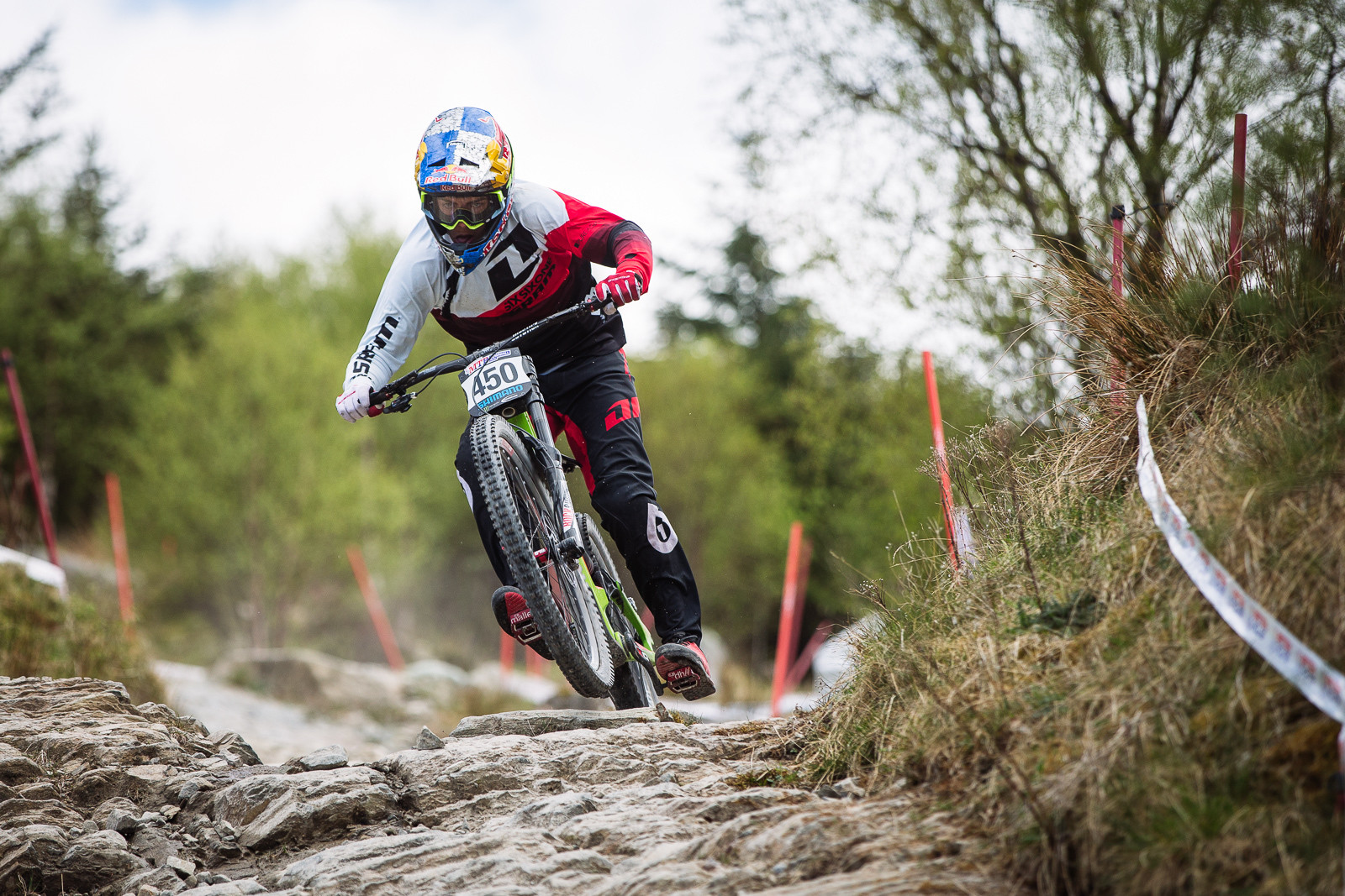 Finn Iles, Fort William BDS - Fort William DH Action from the British Downhill Series - Mountain Biking Pictures - Vital MTB