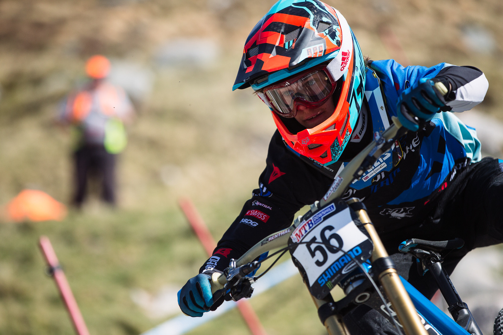 Laurie Greenland, Fort William BDS - Fort William DH Action from the British Downhill Series - Mountain Biking Pictures - Vital MTB