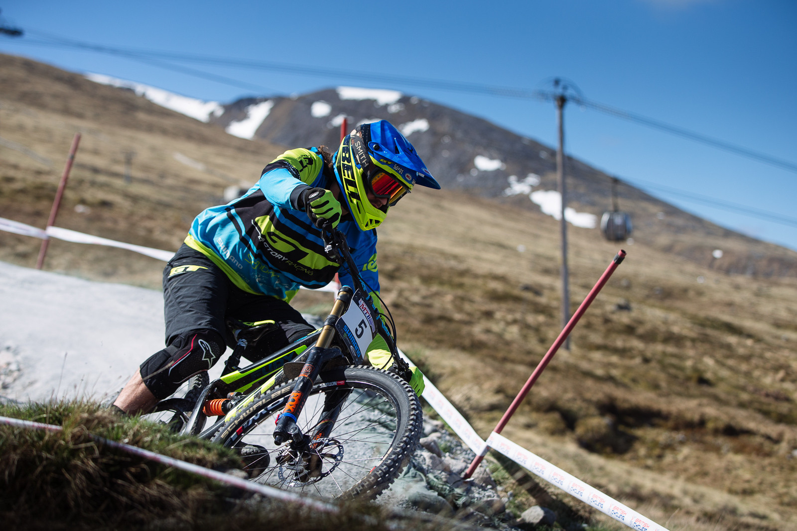 Sam Dale, Fort William BDS - Fort William DH Action from the British Downhill Series - Mountain Biking Pictures - Vital MTB